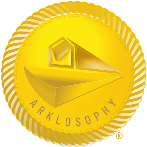 Arklosophy Logo designed by Kirk Love